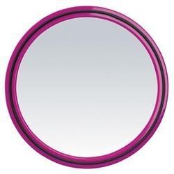 Image of MAGIC MIRROR Sort/pink 27 cm med håndtag