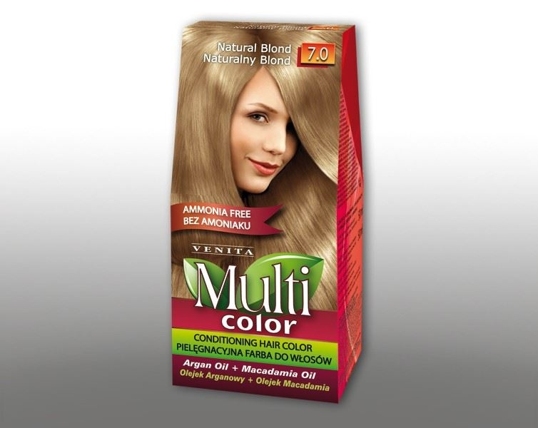 Billede af Venita Multi Color Natural Blond 7.0 115ml