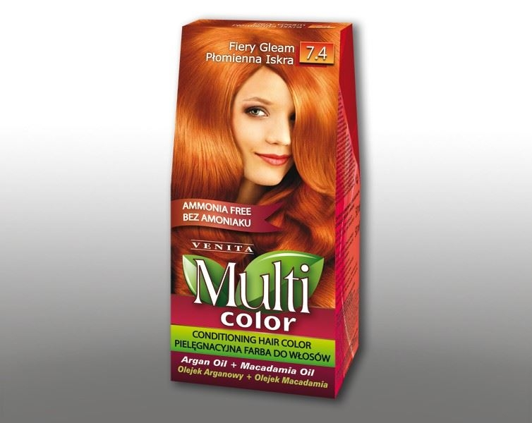 Billede af Venita Multi Color Orange 7.4 115ml