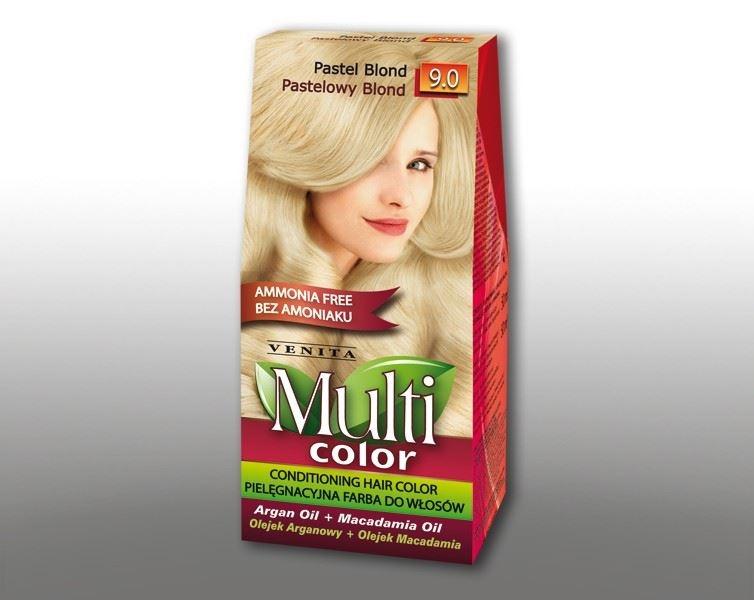 Billede af Venita Multi Color Pastel Blond 9.0 115ml