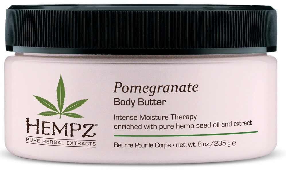 Image of   Hempz Pomegranate Herbal Body Butter 235ml