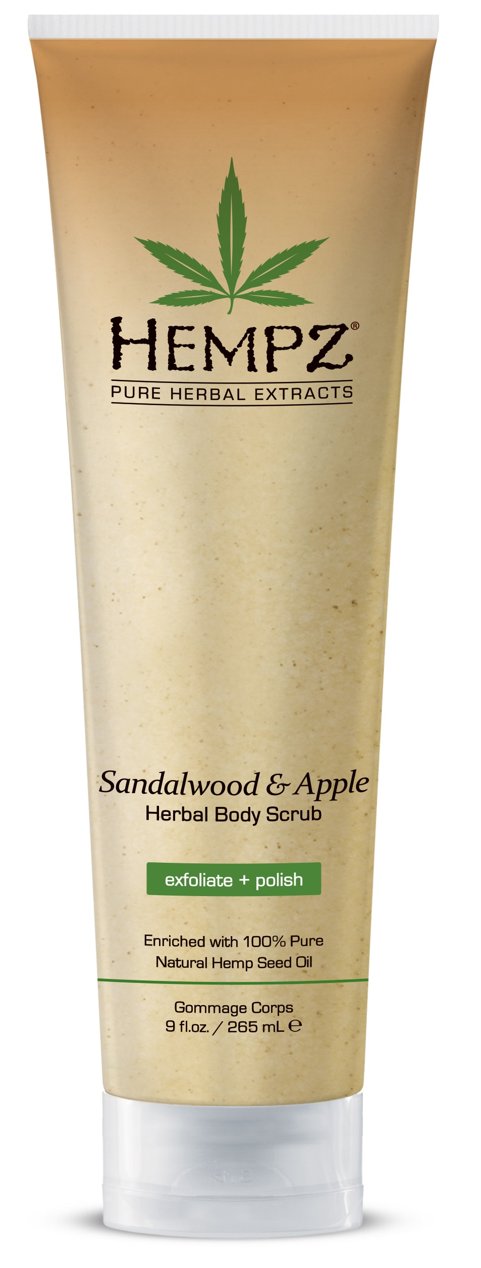 Image of Hempz Sandalwood & Apple Herbal Body Scrub 265ml