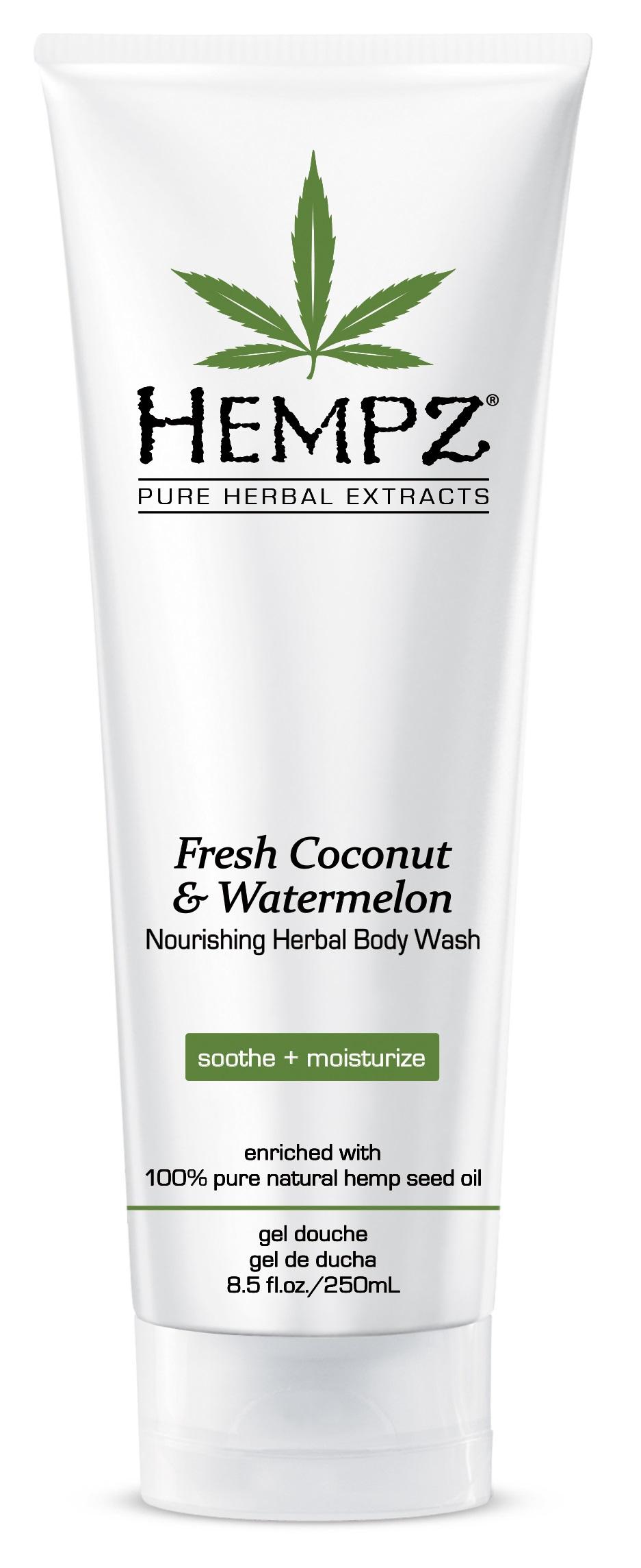 Image of Hempz Fresh Coconut & Watermelon Nourishing Herbal Body Wash
