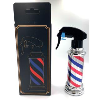 Barber Spray flaske i sølv 200ml