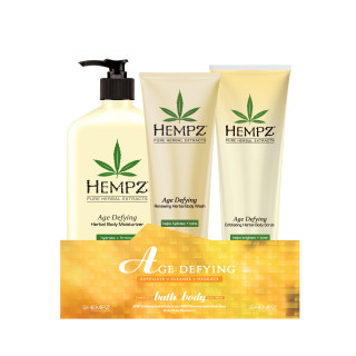 Hempz Age Defying Bath + Body Kit