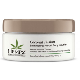 Coconut Fusion Shimmering Herbal Body Soufflé 227gr