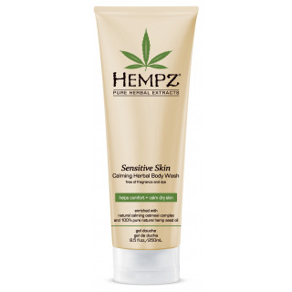 Hempz Herbal Calming Body Wash For Sensitive Skin 250ml