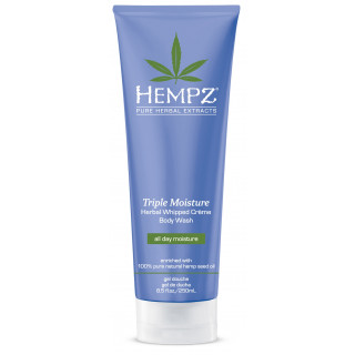 Hempz Triple Moisture Herbal whipped Creme Body Wash 250ml
