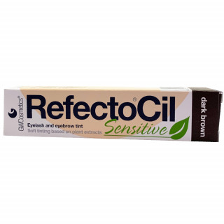 RefectoCil Sensitive, mørkebrun 15ml