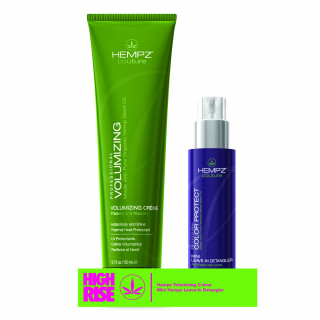 "Hempz ""High Rise"" Volumizing Créme + mini Detangler"