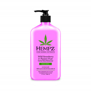 Hempz Wild Strawberry & Passion Fruit Herbal Body Moisturizer 500ml