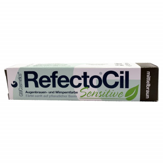 RefectoCil Sensitive, mellembrun 15ml