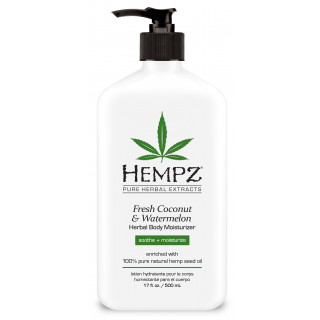 Hempz Coconut & Watermelon Herbal Body Moisturizer 500ml