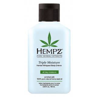 Hempz Triple Moisture Whipped Body Creme 65ml
