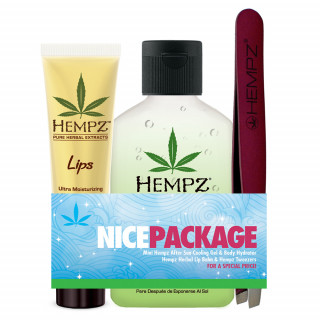 Hempz After Sun Gel, Lip Balm & Pincet