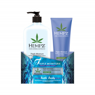 Hempz Triple Moisture Bath + Body Kit