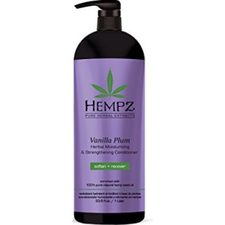 Hempz Vanilla Plum Moisturizing Conditioner 1L