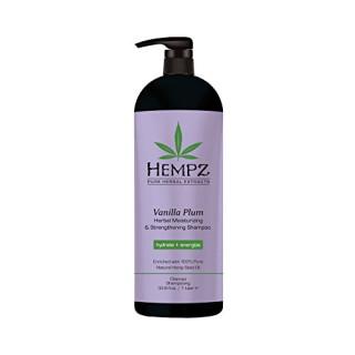 Hempz Vanilla Plum Moisturizing Shampoo 1L