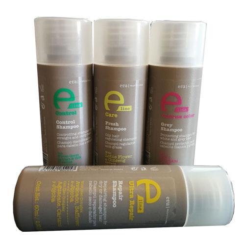 Image of 12 stk ELine Naturshampoo til ferie/rejse brug 60ml