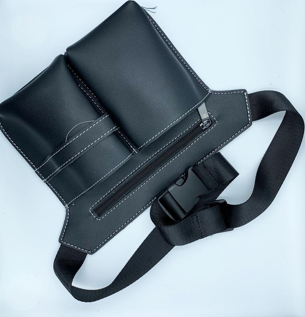 Billede af Bæltetaske i læderlook