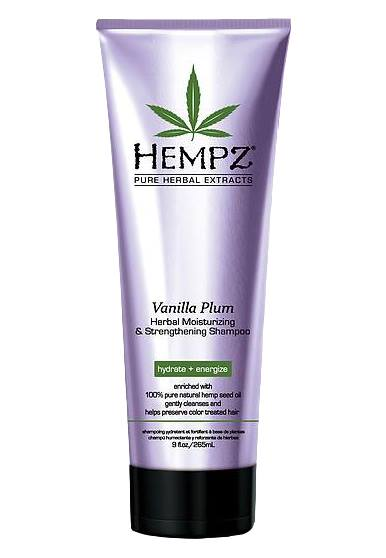 Image of   Hempz Vanilla Plum Moisturizing Shampoo 265ml