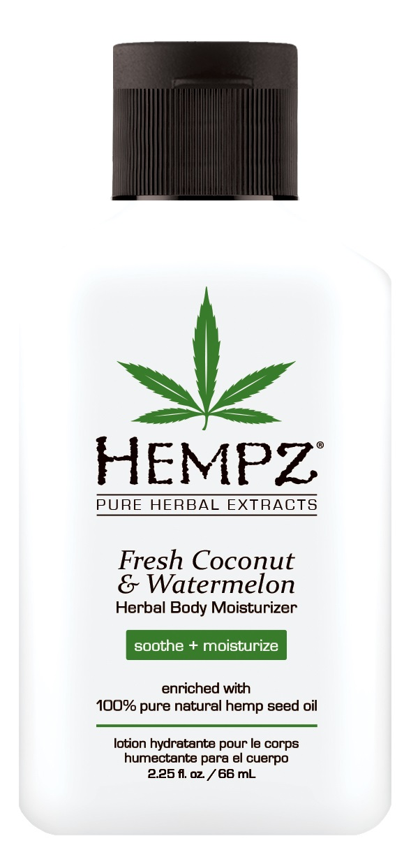 Image of Hempz Coconut & Watermelon Herbal Body Moisturizer 65ml