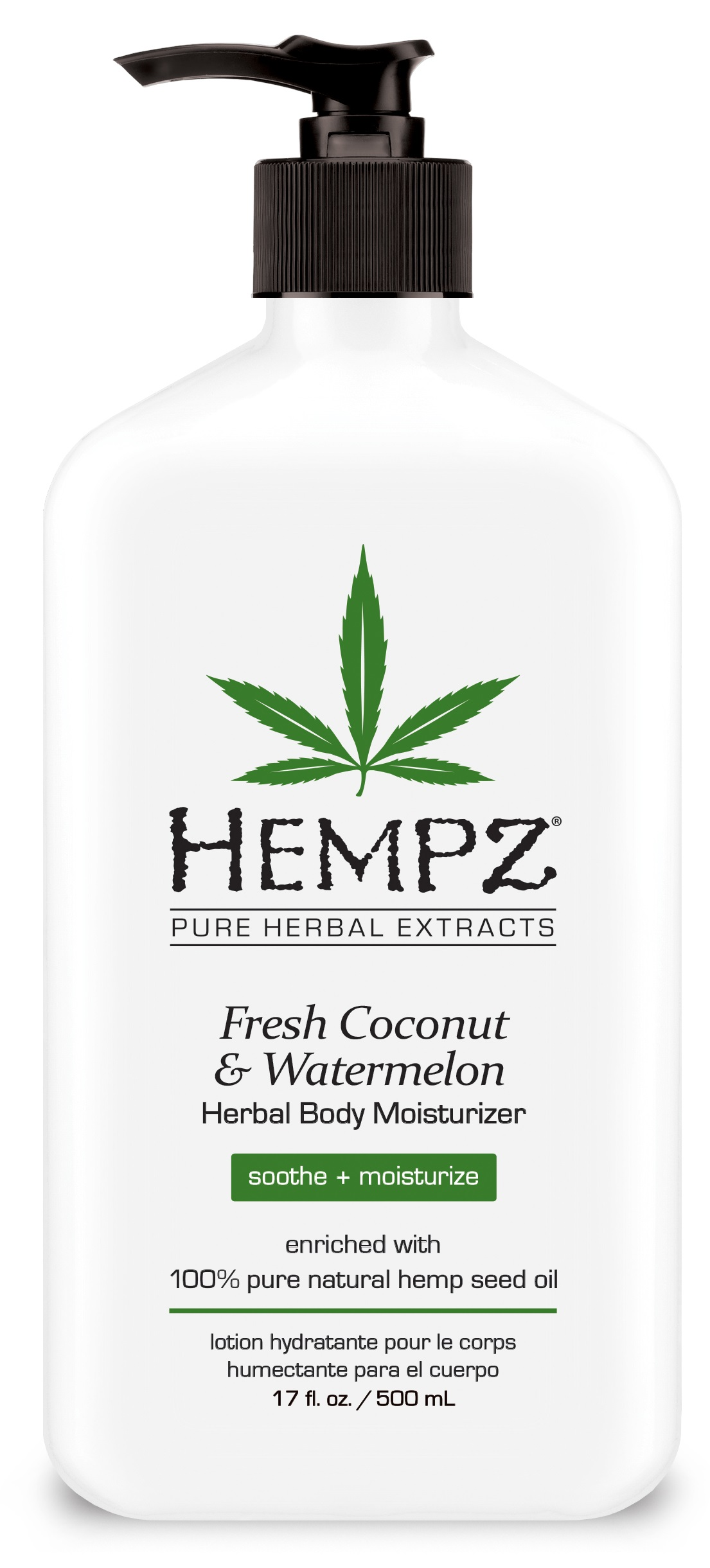 Billede af Hempz Coconut & Watermelon Herbal Body Moisturizer 500ml