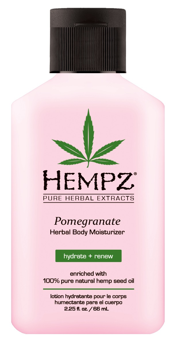Image of Hempz Pomegranate Herbal Body Moisturizer 65ml