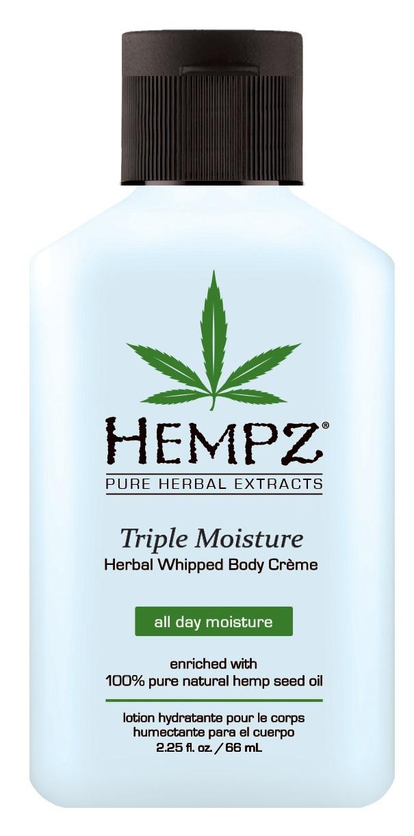 Image of Hempz Triple Moisture Whipped Body Creme 65ml