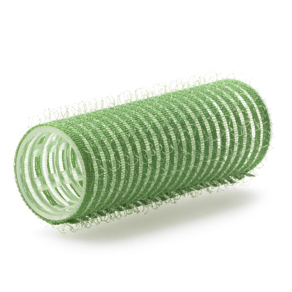Billede af Selvsiddende velcro curl grøn 21 mm 12 stk