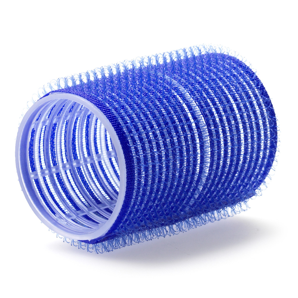 Billede af Selvsiddende velcro curl blå 40 mm 6 stk