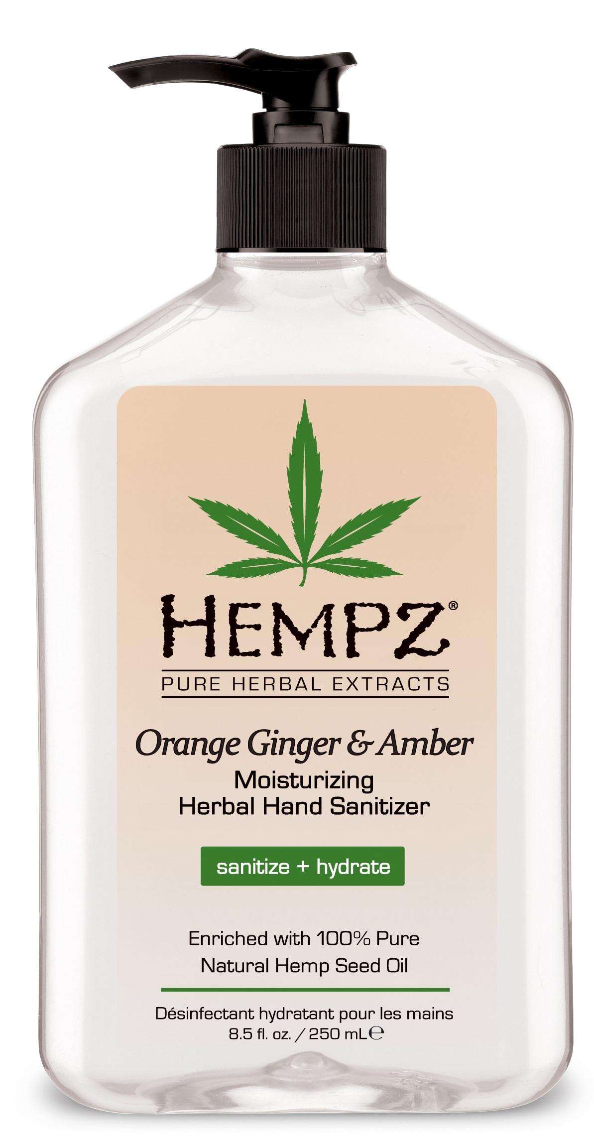Image of Hempz Herbal Hand Sanitizer 250ml
