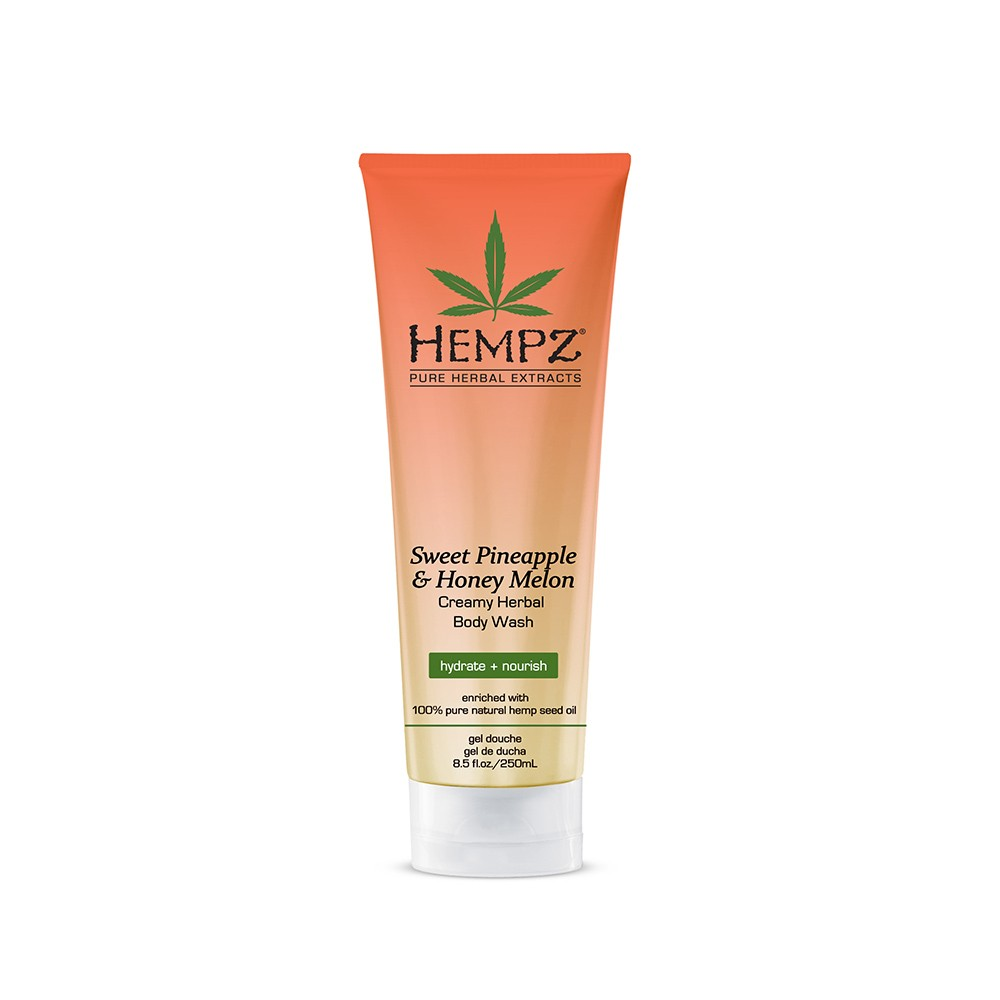 Image of   Hempz Sweet Pineapple & Honey Melon Body Wash 250ml
