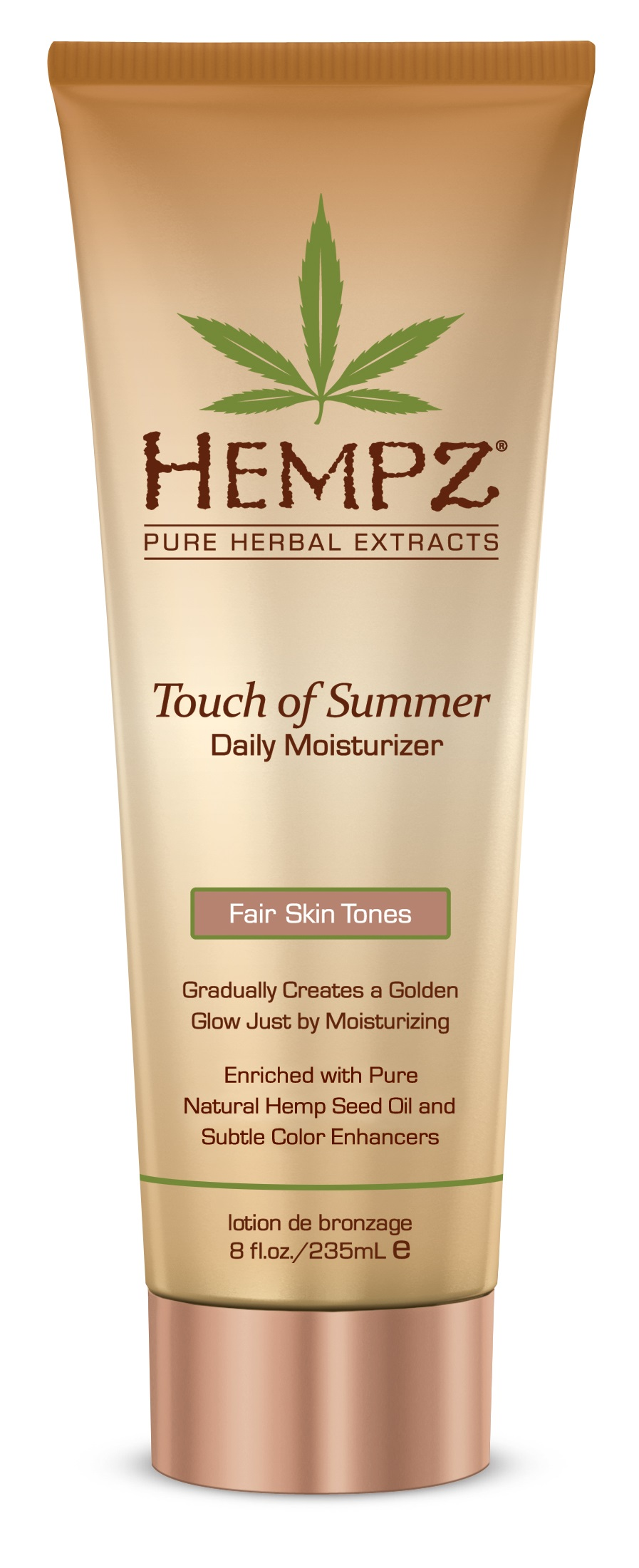 Image of   Hempz Touch of Summer For Fair Skin Tones 235ml TILBUD SPAR 100