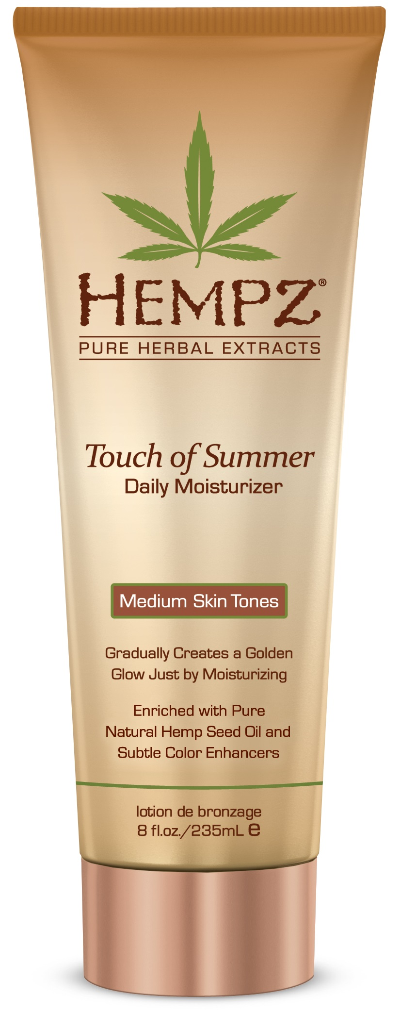 Image of   Hempz Touch of Summer For Medium Skin Tones 235ml