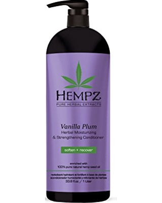 Image of   Hempz Vanilla Plum Moisturizing Conditioner 1L