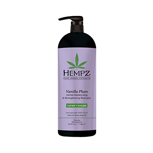 Image of   Hempz Vanilla Plum Moisturizing Shampoo 1L