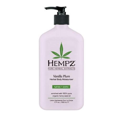 Image of Hempz Vanilla Plum Herbal Body Moisturizer 500ml