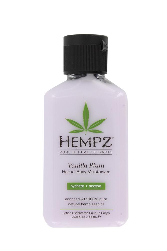 Image of Hempz Vanilla Plum Herbal Body Moisturizer 65ml